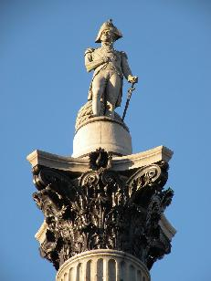 Questa statua si trova a Trafalgar Square a Londra