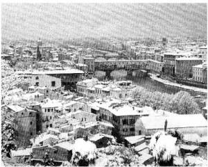 Ponte Vecchio in inverno