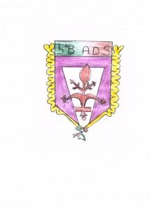 Una prova del logo della VB