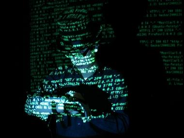 immagine di un hacker tratta da un film